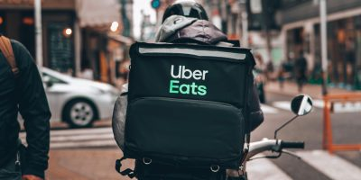 Uber Eats Takeaway Delivery Driver