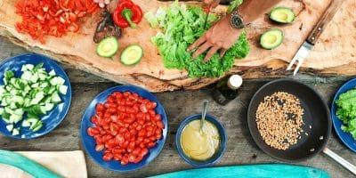 Preparing fresh foods